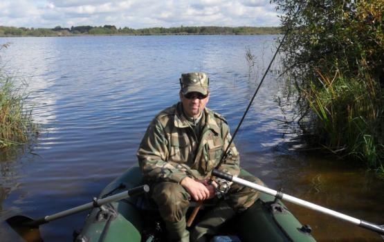 Рыбалка на озере Спичном